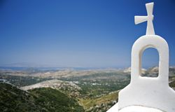 Bell Tower in Santorini Royalty Free Stock Image