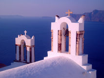 Bell Tower - Santorini Royalty Free Stock Photos