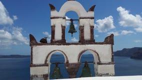 Bell. Tower santorini Royalty Free Stock Image