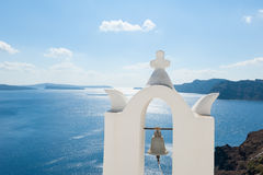 Bell Tower in Santorini Greece Royalty Free Stock Image