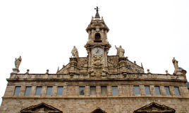 Bell tower of the sants joans church in Valencia, Spain royalty free stock images
