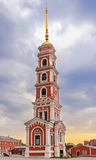 Bell tower in saratov Royalty Free Stock Photo