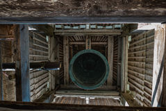 Bell tower in Shirakawa-go Stock Photos