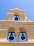 Bell tower in Sidari - Corfu Royalty Free Stock Photo