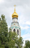 Bell tower of Sophia Cathedral in Vologda. Bell tower of Sophia Cathedral - Orthodox church, now a museum in Vologda, Russia. Erected in 1568 - 1570 years on Royalty Free Stock Image