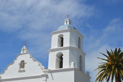 Bell Tower Spanish California Mission Royalty Free Stock Photo