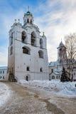 Bell tower of the Spaso-Preobrazhensky monastery, Yaroslavl Stock Photo