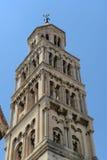 Bell Tower in Split Croatia Stock Image