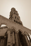Bell Tower in Split Croatia Stock Photo