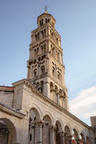 Bell tower of St. Duje cathedral. Stock Photography