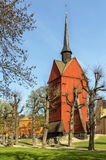 Bell Tower of St. Johannes Church, Stockholm Stock Images