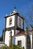 Bell tower. St John the baptist church. obidos Obidos. Portugal Stock Photos