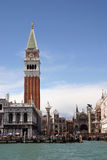 Bell Tower, St Marks Square Royalty Free Stock Images