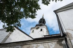 St Mary Cathedral in Toompea Tallinn Estonia Stock Photography