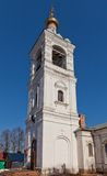 Bell tower of St. Michael Church, Russia Royalty Free Stock Photos
