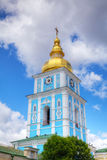 Bell tower at St. Michael monastery in Kiev Royalty Free Stock Photos