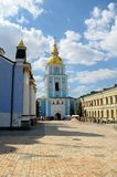 Bell tower of St. Michael's Golden-Domed Monastery, Kiev Royalty Free Stock Photo