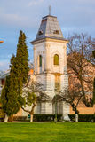 The bell tower of St Nicholas church royalty free stock image