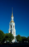 Bell tower of St. Nicholas Naval Cathedral Stock Images