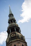 Bell tower of St. Peter's Church Stock Images