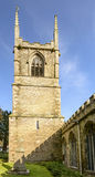 Bell tower of St.Petroc church, Bodmin, Cornwall Royalty Free Stock Images