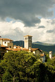 Bell tower of St. Pietro and St.Biagio, Cividale del Friuli Royalty Free Stock Image