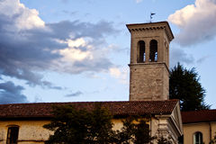 Bell tower of St. Pietro and St.Biagio, Cividale del Friuli Royalty Free Stock Images