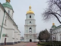 Bell tower of St. Sophia Cathedral. royalty free stock image