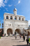 Bell tower of St. Sophia Cathedral in Veliky Novgorod Royalty Free Stock Image