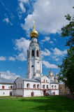 Bell tower of St. Sophia Cathedral. In Vologda city Royalty Free Stock Photo