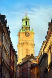 Bell Tower, Stockholm, Sweden. Photo of a Bell Tower, Stockholm, Sweden Stock Photo