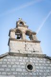 Bell tower in Sucuraj town on Hvar island, Croatia Stock Photography