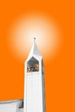 Bell tower at sunset Royalty Free Stock Photography