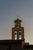 Bell tower at Sunset Royalty Free Stock Images