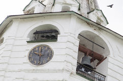 Bell tower in suzdal kremlin,russian federation Stock Photo