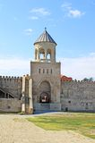 Bell tower of Svetitskhoveli Cathedral Royalty Free Stock Photography
