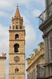 Bell tower of Teramo Stock Image