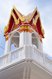 Bell tower in Thai temple in Thailand Stock Photos