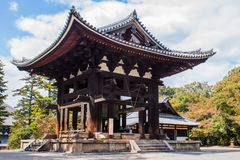 The bell tower at Todai-ji temple in Nara,  Japan, Stock Image