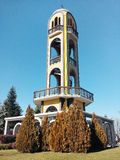 The Bell Tower in the town of Haskovo Royalty Free Stock Image