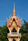 Bell tower in tradtional Thai style Stock Images