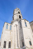 Bell tower of Trinity Cathedral in Gus-Zhelezny Stock Photography