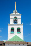 Bell tower of The Trinity Cathedral located in Pskov Royalty Free Stock Image