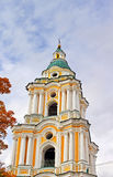 Bell tower of Trinity Monastery in Chernigiv Stock Photos