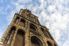 Bell tower, Utrecht, Netherlands royalty free stock photography
