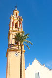 Bell Tower in Valencia Province, Spain. Stock Images