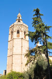 Bell tower in Valencia, Spain Royalty Free Stock Photo