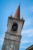 Bell Tower in Varenna Royalty Free Stock Images