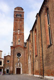 Bell tower in venice Stock Photography