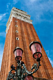 Bell tower in Venice, Italy Stock Images